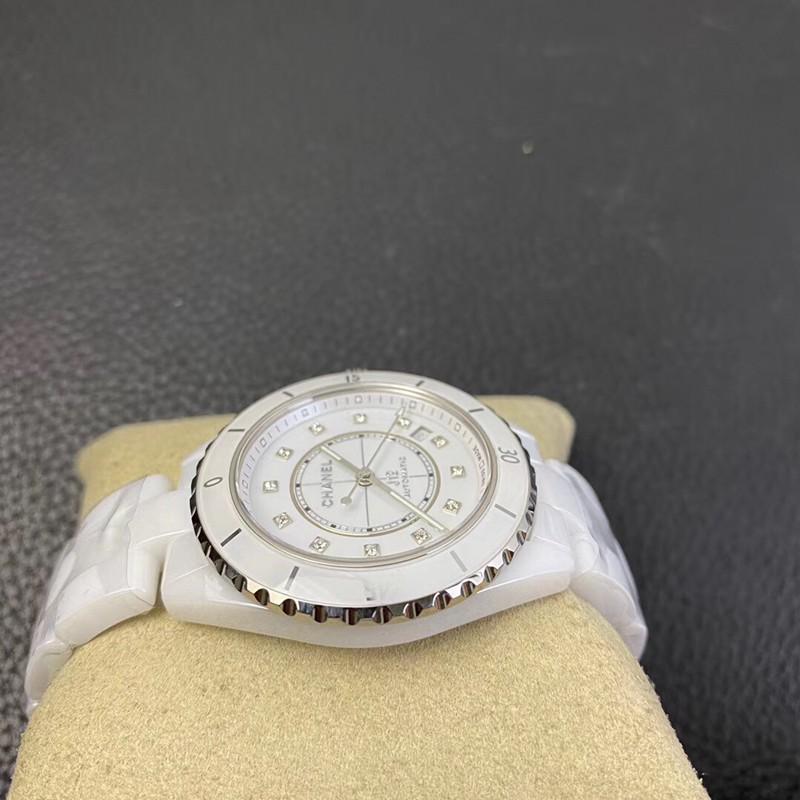 BV复刻香奈儿j12手表白陶瓷20周年新款原版机芯