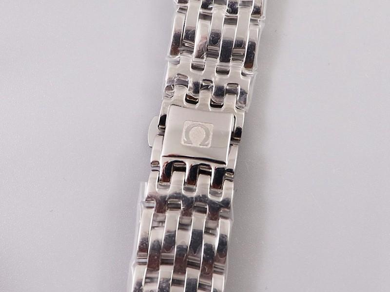 欧米茄高仿蝶飞女表石英系列腕表27.4mm蓝盘