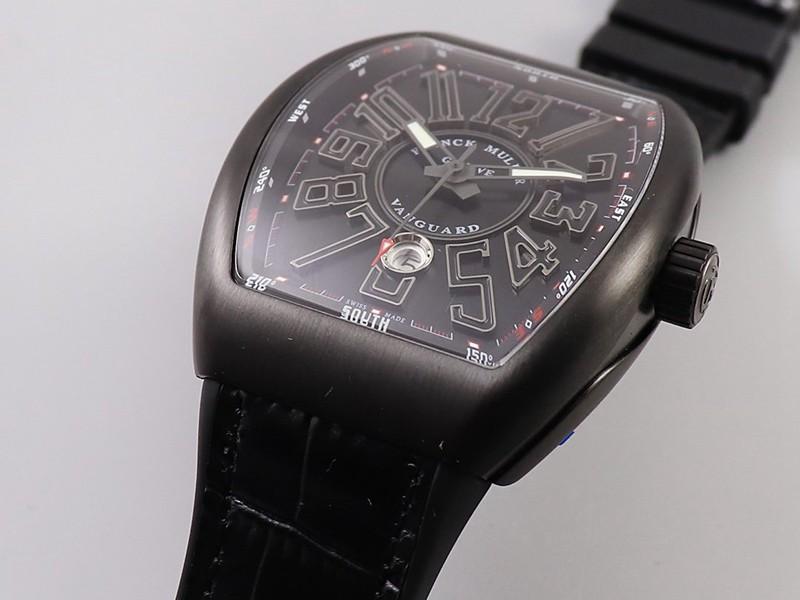 复刻法兰克穆勒手表V45系列酷黑酒桶型