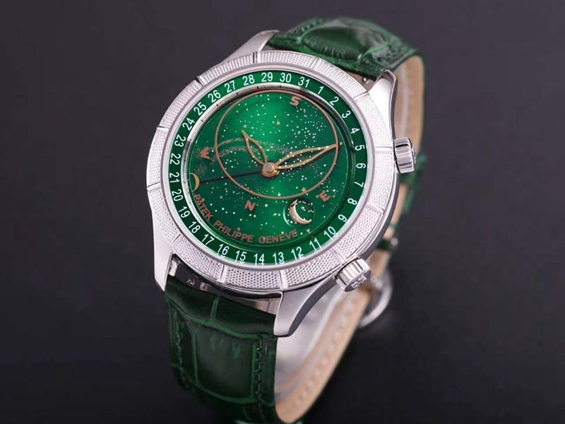 高仿百达翡丽手表复杂功能星空系列5106R/5102/6104绿盘
