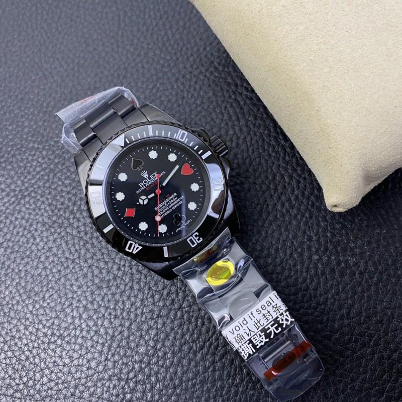 复刻劳力士手表潜航者最新改装款全黑