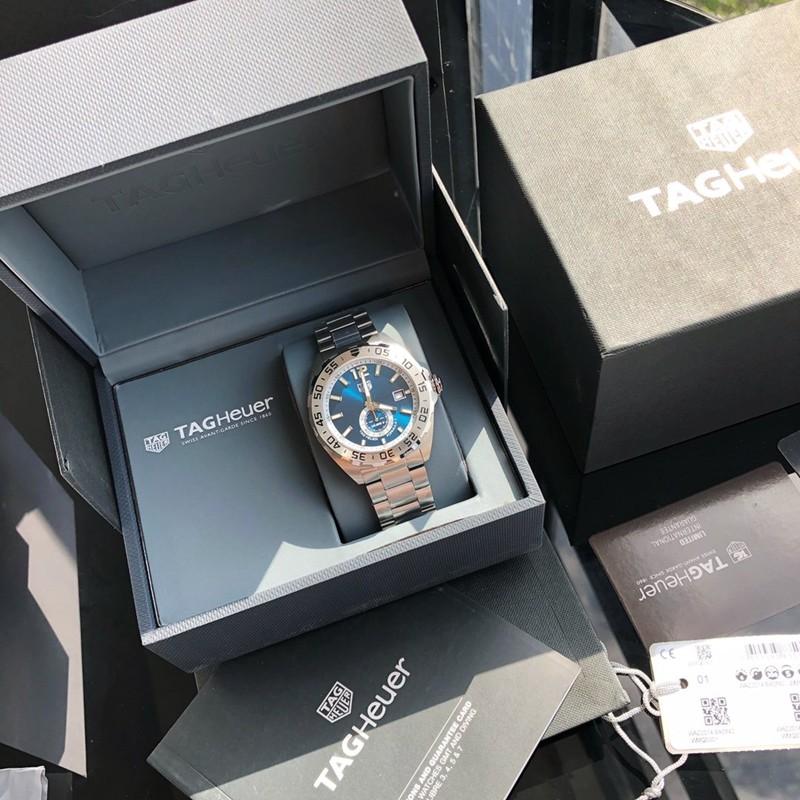 精仿手表泰格豪雅新款F1系列43mm瑞士sw360-1机械蓝盘