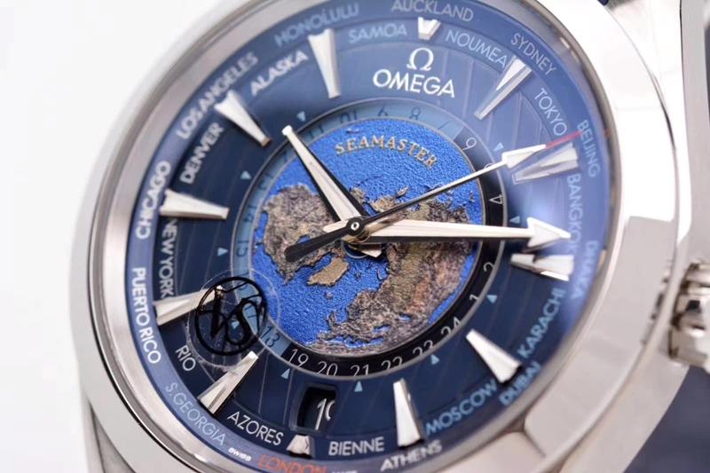复刻手表vs欧米茄新款海马系列220.12.43.22.03.001