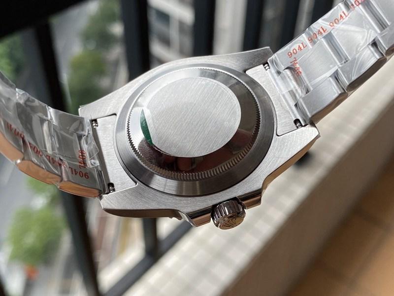 复刻手表NOOB厂劳力士黑水鬼V11版潜航者上手图实拍
