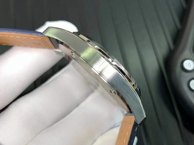 精仿浪琴手表先行者系列五星上将蓝盘机械表