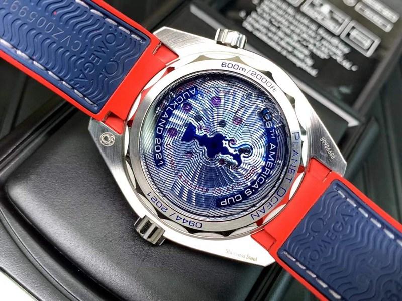VS欧米茄复刻手表43.5mm全新海马600米美洲杯