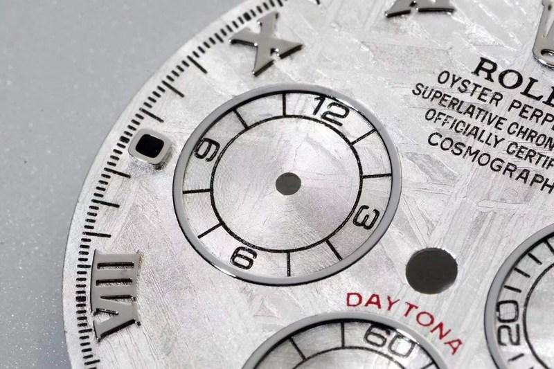 n厂复刻劳力士手表迪通拿4130机芯真陨石字面