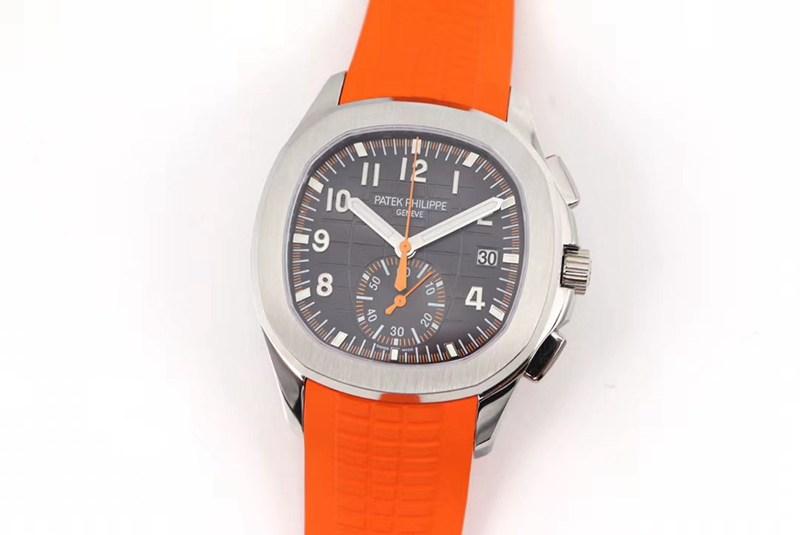 OM厂顶级复刻百达翡丽手雷计时腕表全新5968A-001一体机芯手表 橙色