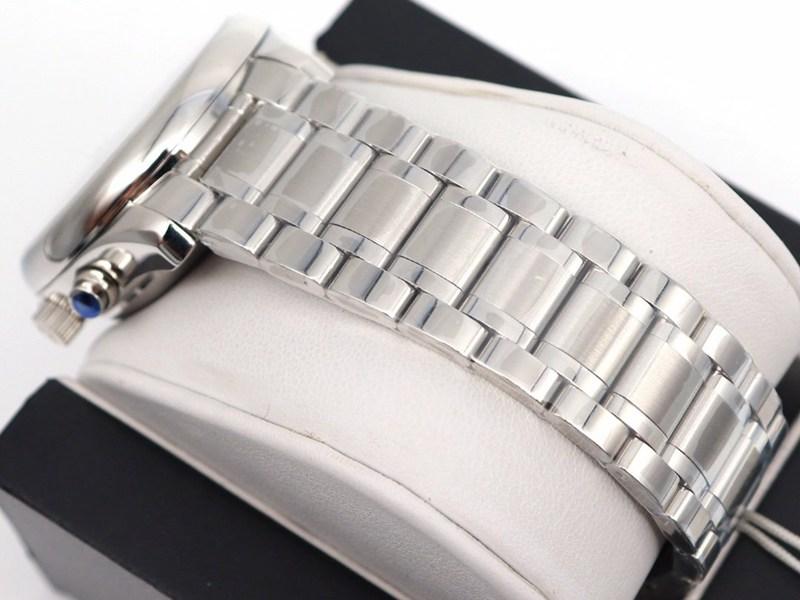 GL复刻浪琴手表名匠八针月相7751白盘钢带款