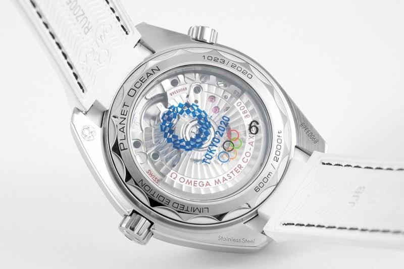 复刻手表欧米茄女士海马系列海洋宇宙600米陶瓷圈39.5直径自动机械表