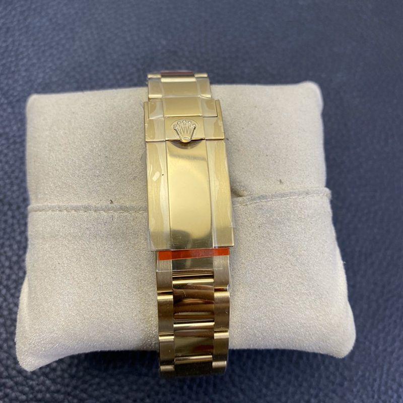 n厂手表劳力士复刻迪通拿黑金Cal.4130自动上链机芯钢带款