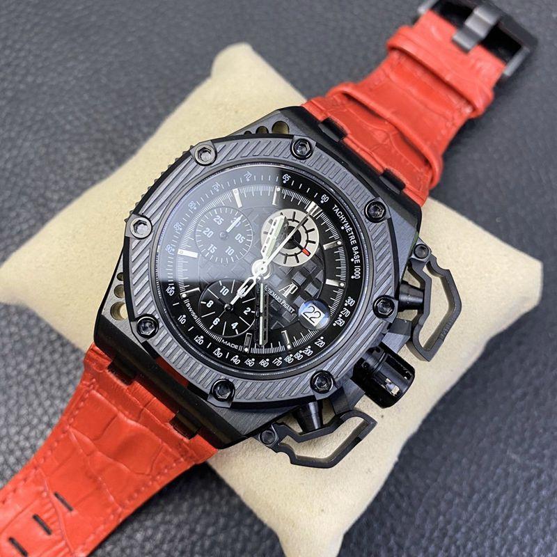 N厂手表复刻爱彼幸存者皇家橡树离岸型大闸蟹男士超酷机械腕表