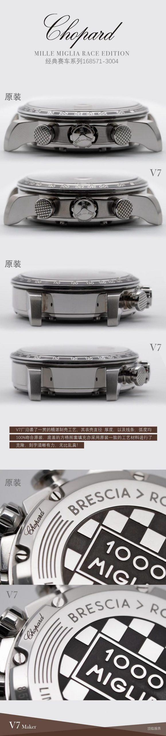 萧邦复刻手表V7厂赛车系列精品评测