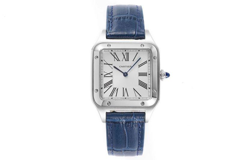 卡地亚精仿手表Cartier山度士SANTOS-DUMONT系列WSSA0022情侣腕表