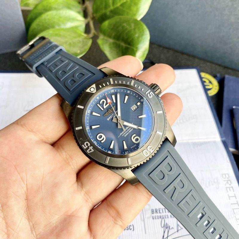 百年灵原单超级海洋自动机械复刻手表