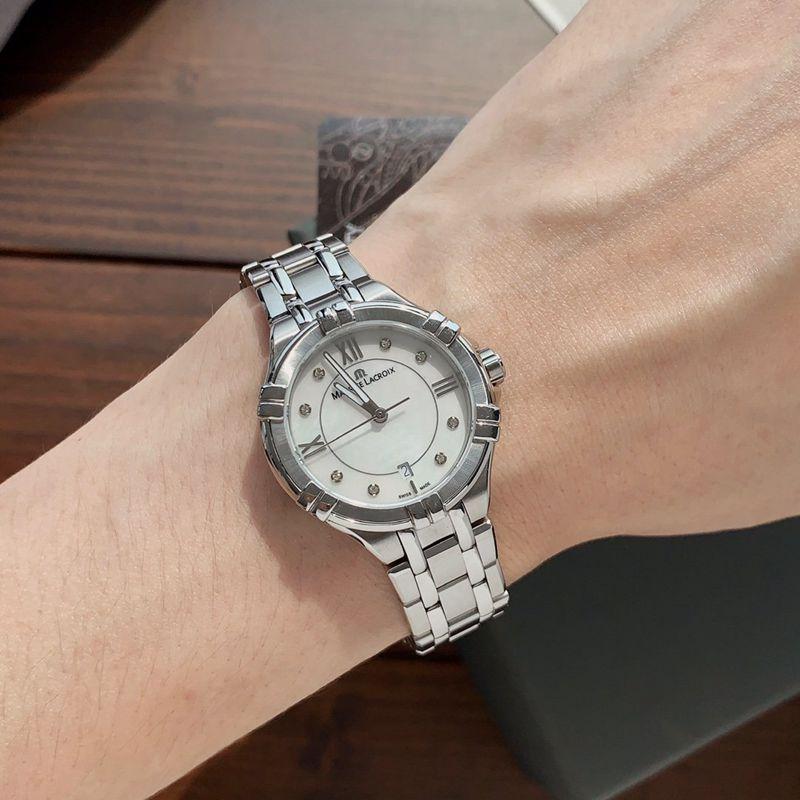 艾美原单AIKON QUARTZ系列女士石英腕表