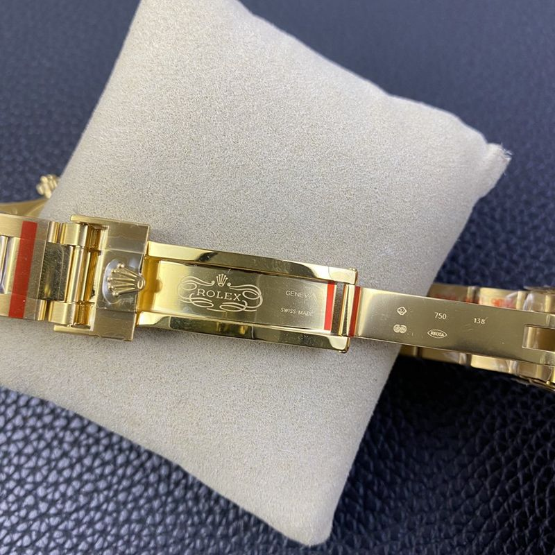 劳力士复刻手表迪通拿4130机芯BLKEN订制版 红月