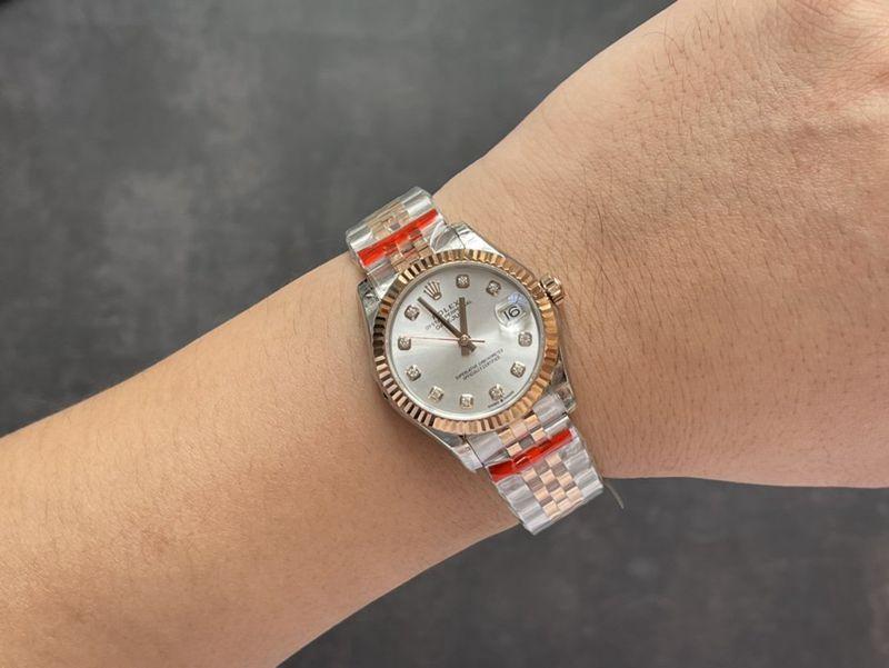 劳力士复刻手表日志型 31mm 间金女装腕表