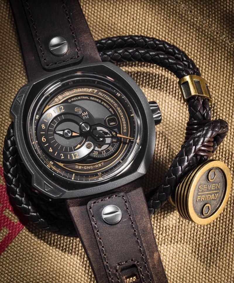 七个星期五复刻手表Sevenfriday自动机械男表