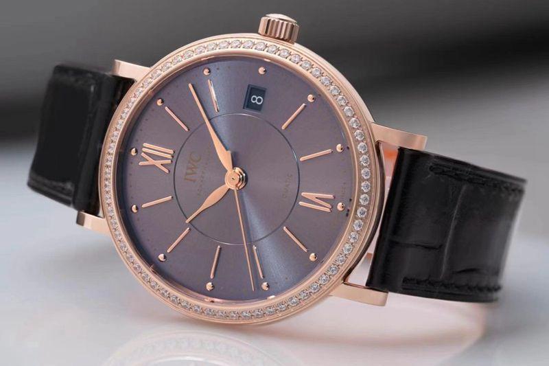 万国女款复刻手表柏涛菲诺极致典雅顶级女表