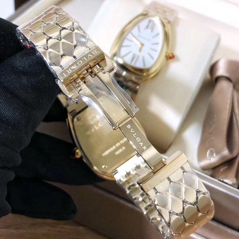宝格丽复刻手表女士鎏光蛇影市场最高版本原版开模