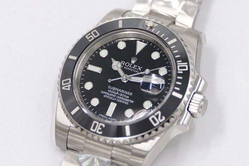 劳力士复刻手表AR超级V4版SUB黑水鬼116610系列