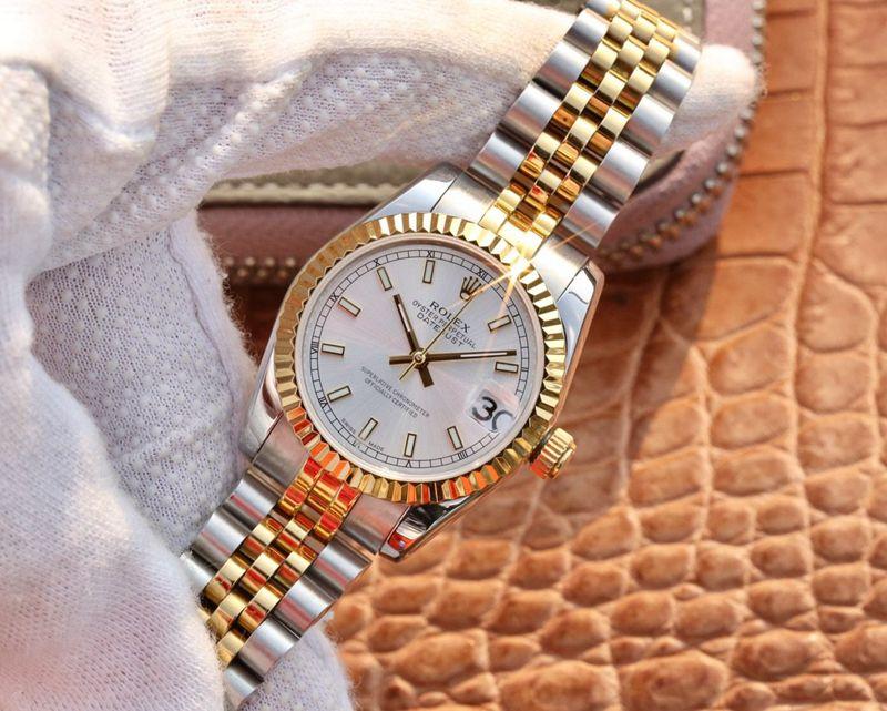 劳力士复刻手表日志型系列女款腕表