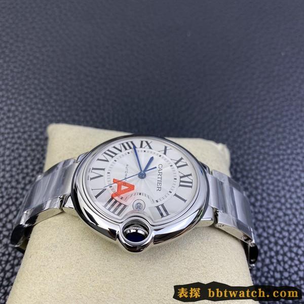 2020全新复刻手表卡地亚蓝气球V6厂(V8升级版)官方保卡说明书保证书 钢带款
