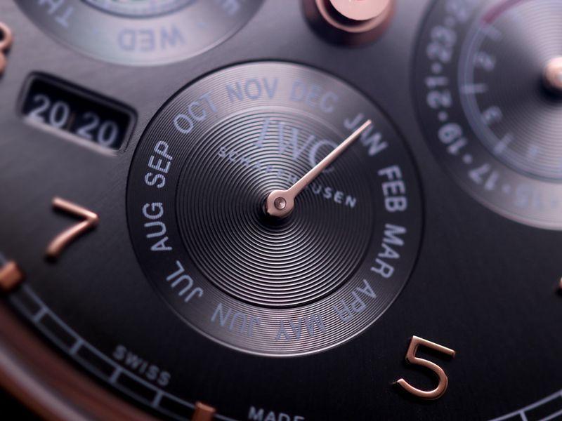 万国精仿手表葡萄牙系列真万年历复杂功能腕表