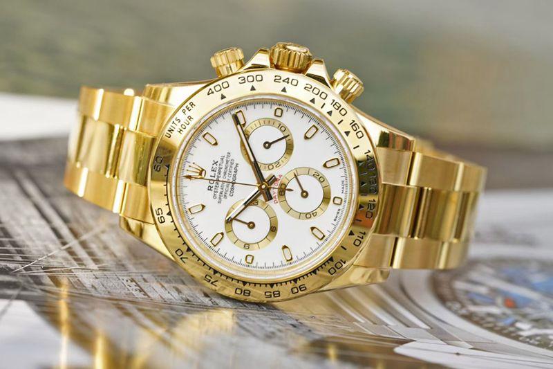 劳力士复刻手表宇宙计型迪通拿全金系列腕表