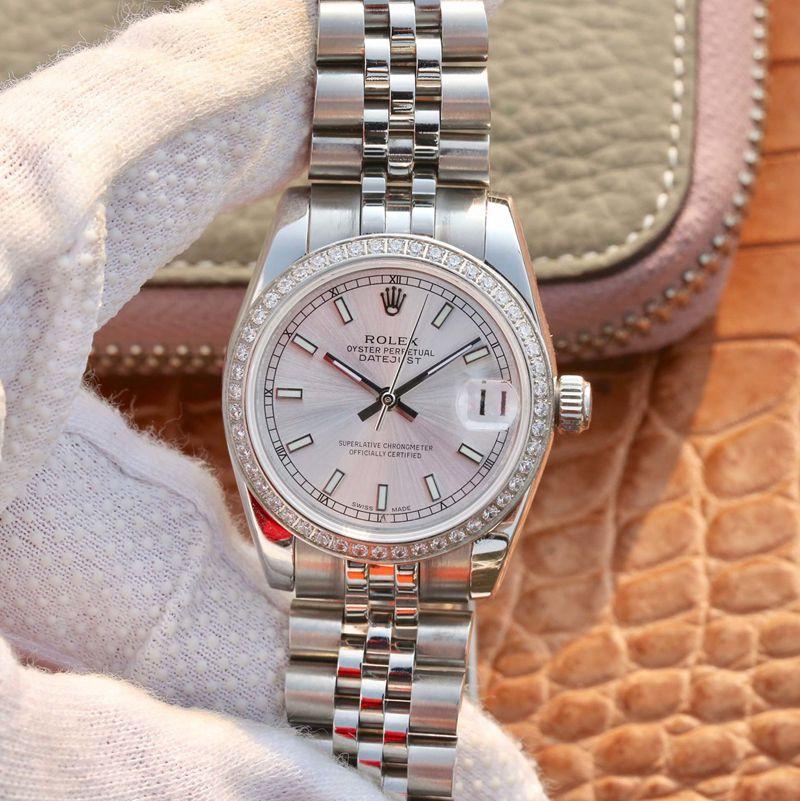 劳力士高仿手表ROLEX日志型女款系列腕表