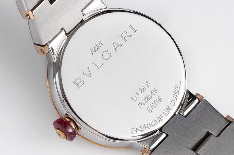 宝格丽高仿手表BVLGARI LVCEA系列女士腕表