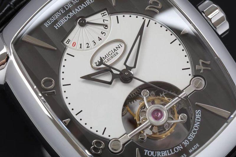 帕玛强尼高仿手表陀飞轮机芯腕表