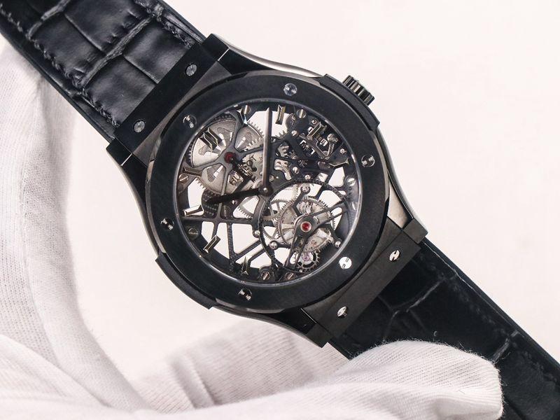 宇舶精仿手表(恒宝)经典融合(CLASSIC FUSION)系列陀飞轮腕表