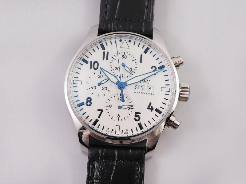 万国复刻手表IWC3777飞行员计时系列腕表