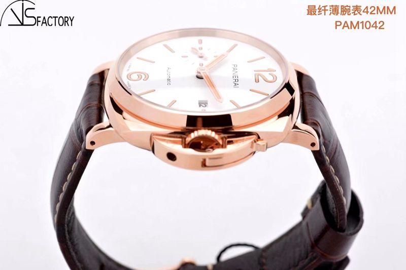 沛纳海高仿手表Luminor Due小红金42MM腕表