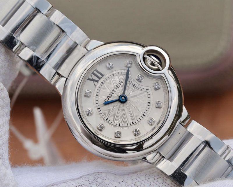 卡地亚精仿手表小号蓝气球腕表