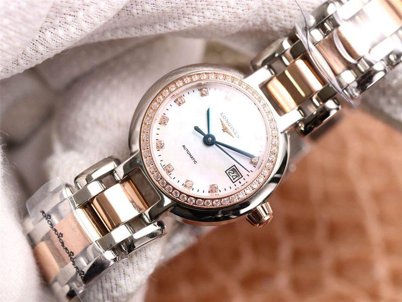 浪琴复刻手表Longines表心月系列腕表