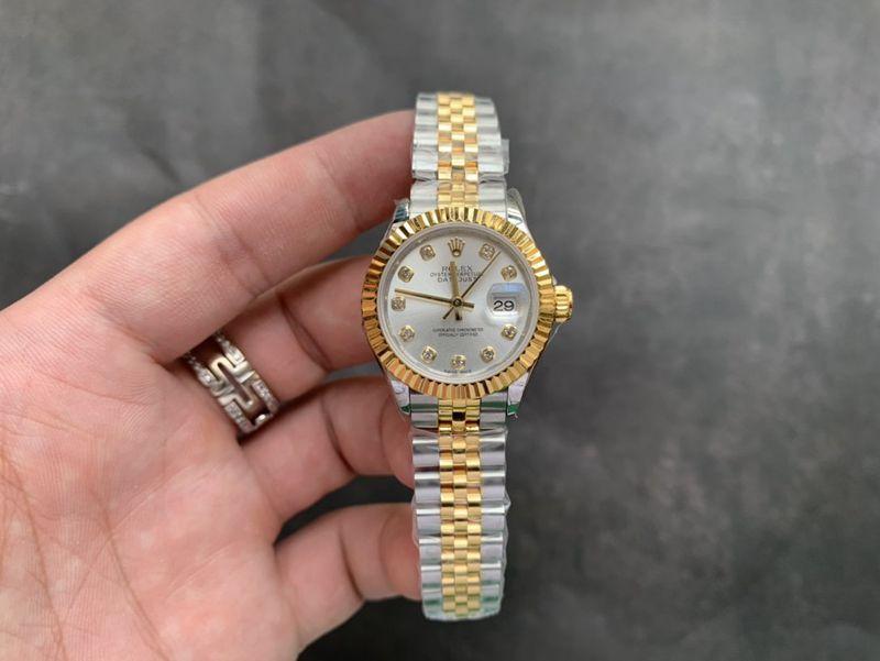 劳力士复刻手表间金日志型28mm女装腕表