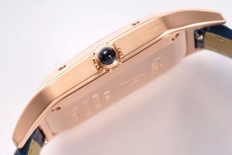 卡地亚高仿手表Cartier山度士SANTOS-DUMONT系列WSSA0022情侣腕表