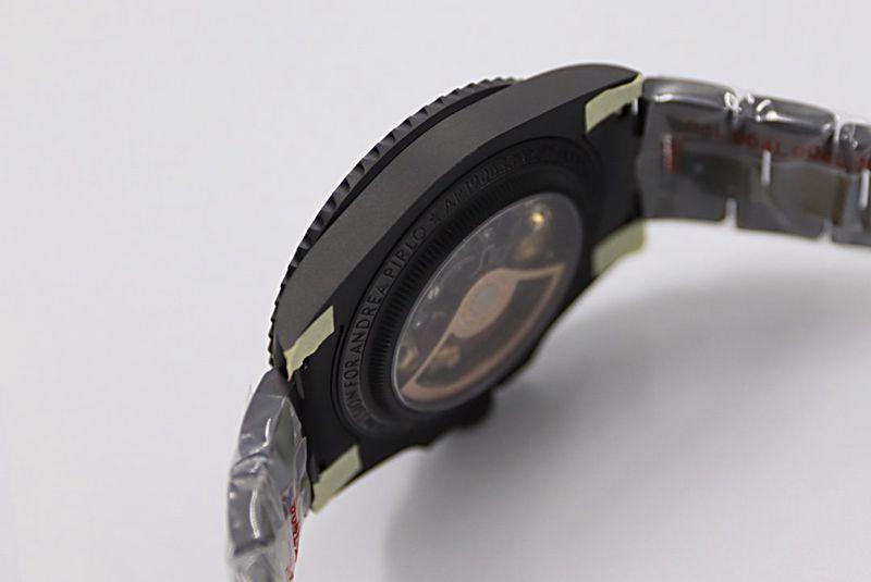 劳力士复刻手表SUB潜航者后镶钻定制版腕表