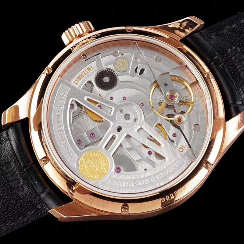 IWC万国高仿手表葡萄牙系列年历男士机械腕表