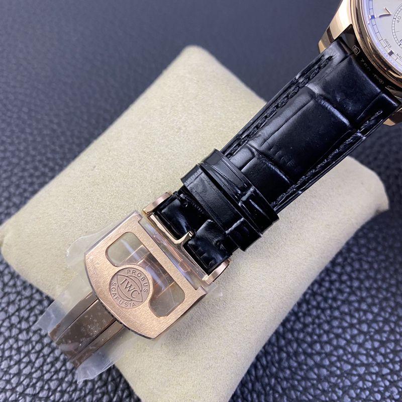 YL万国高仿手表葡萄牙自动小三针男士机械腕表