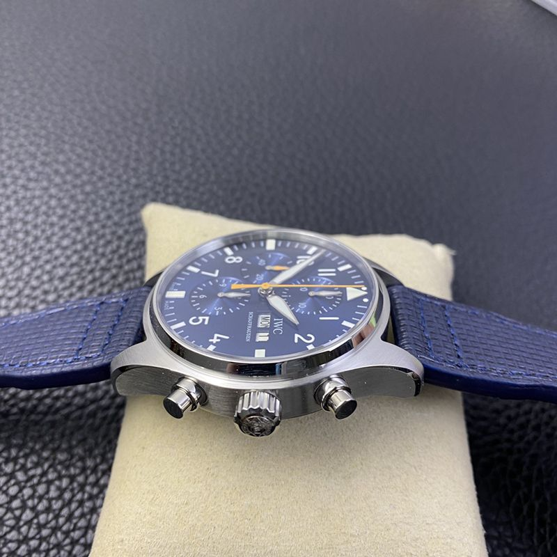 IWC万国精仿手表飞行员系列IW377729腕表蓝队长特别版男士机械腕表