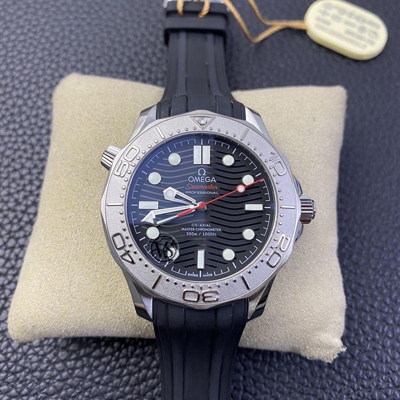 欧米茄复刻手表海马游艇300米系列致敬蔚蓝之作潜水腕表