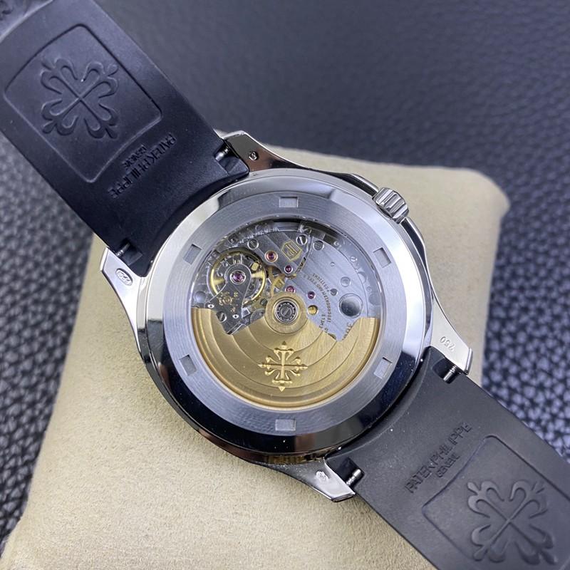WY-3K顶级百达翡丽手雷复刻手表超薄324SC机芯灰盘硅胶表带
