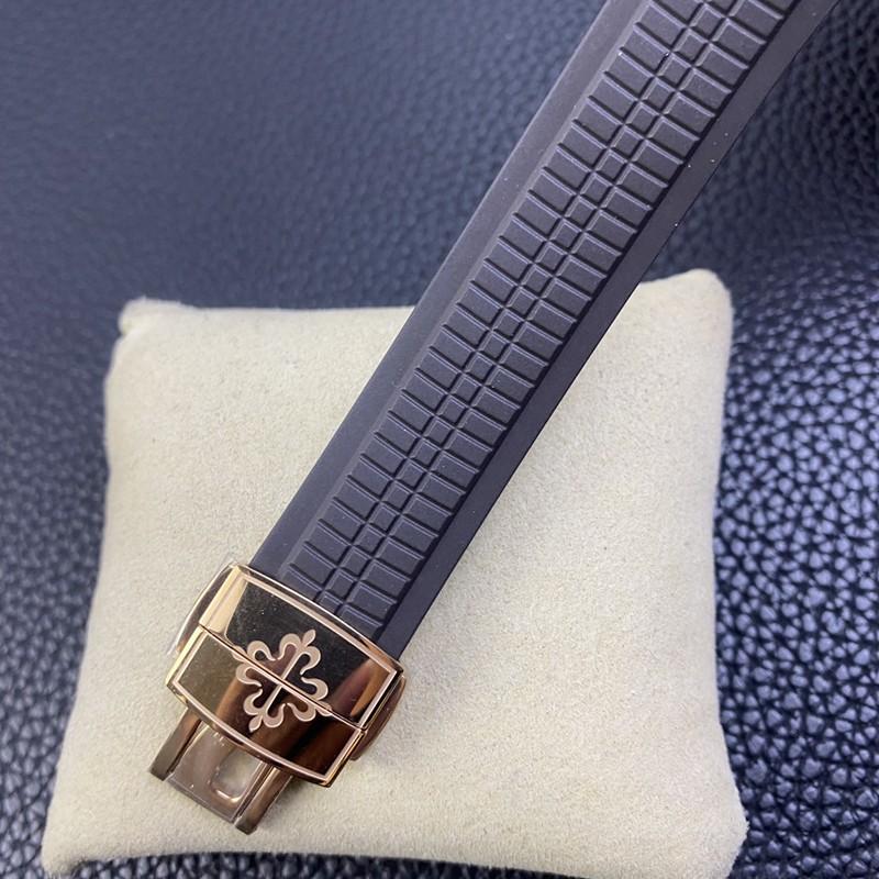 WY-3K顶级百达翡丽手雷复刻手表超薄324SC机芯玫瑰金咖啡盘