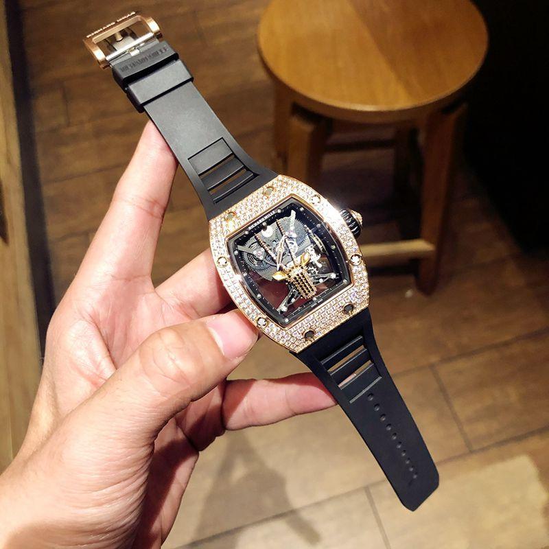 理查徳米勒复刻手表RichardMille满天星系列男士机械腕表