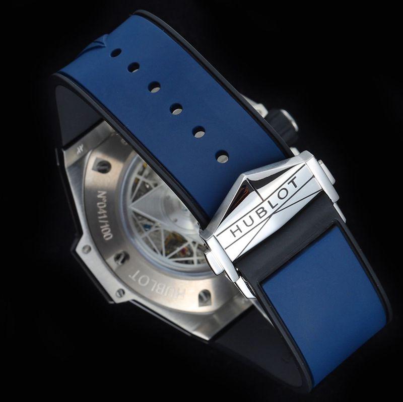 Hublot宇舶复刻手表全新BigBangSangBleuII刺青男士机械腕表