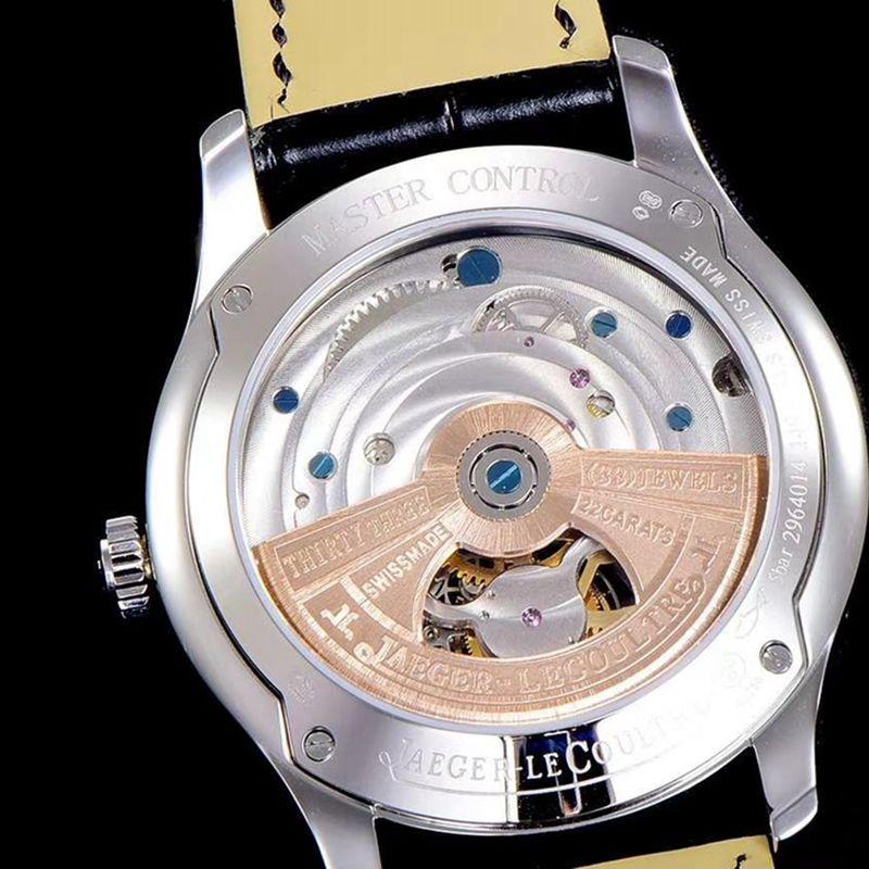 积家复刻手表大师1662451系列Cal798自动真陀飞轮男士腕表